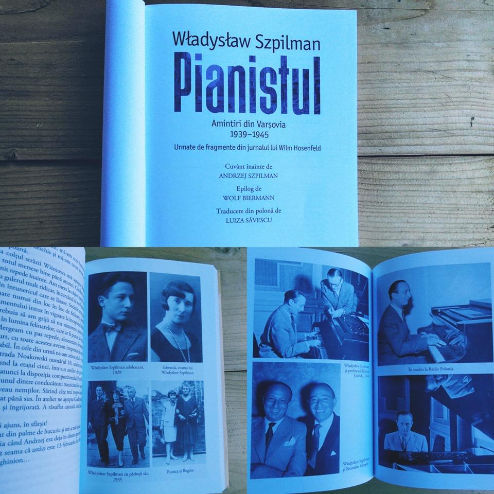 """Recenzie: """"Pianistul"""" de Władysław Szpilman"""