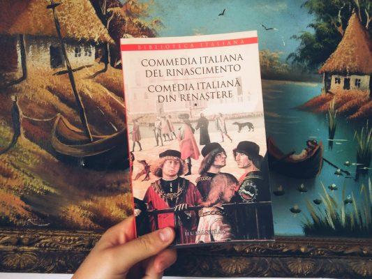 """Recenzie: """"Comedia italiană din renaştere"""" vol. 1+2"""