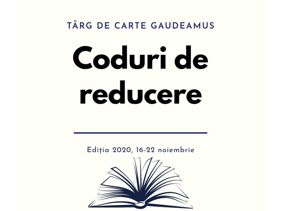 Coduri de reducere în cadrul târgului Gaudeamus