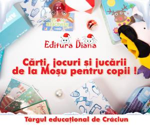Târg Educaţional de Crăciun la Editura Diana