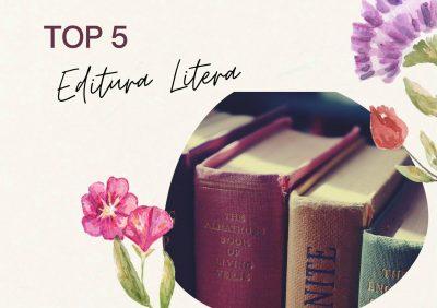Top 5 cele mai bune cărți citite de la Editura Litera
