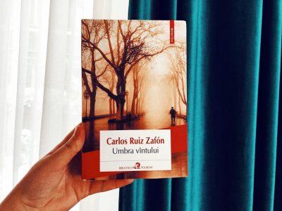 """Recenzie: """"Umbra vântului"""" de Carlos Ruiz Zafon"""