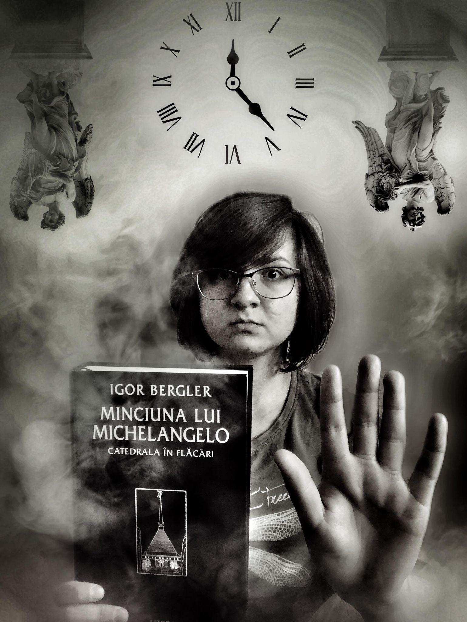 """Recenzie: """"Minciuna lui Michelangelo – Catedrala în flăcări"""" de Igor Bergler"""